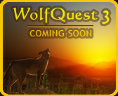 Image: screenshot from WolfQuest